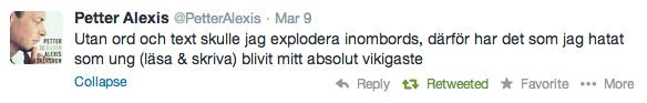 Petter-tweet